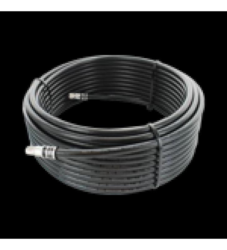 JUMPER COAXIAL CON CABLE WILSON-RG11 | CONECTOR F MACHO EN LOS EXTREMOS | 22.86 METROS DE LONGITUD.
