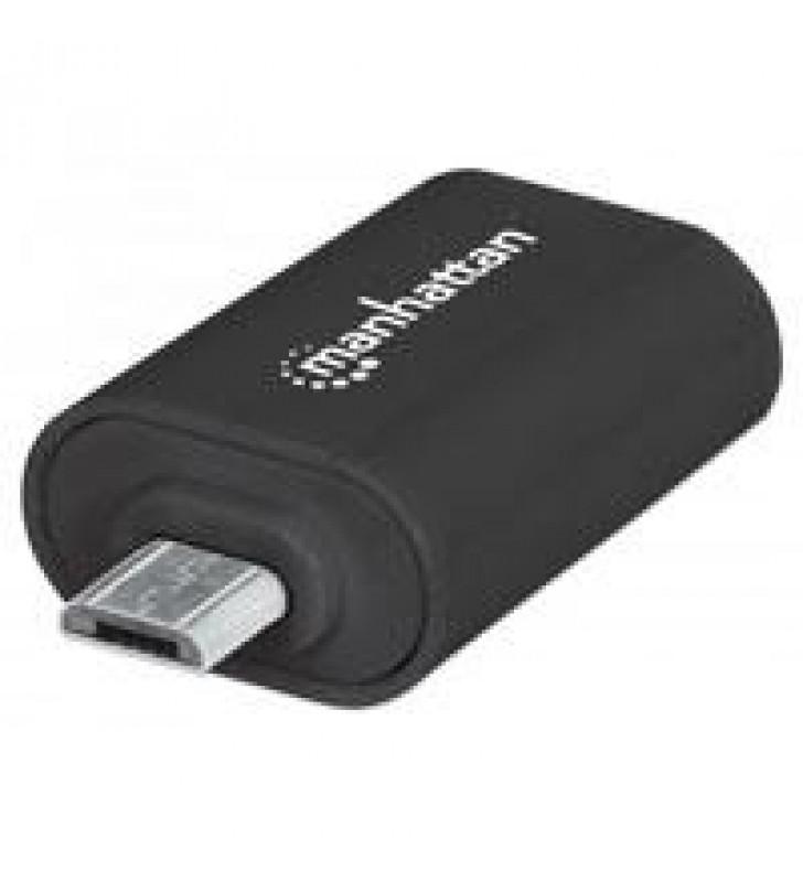 ADAPTADOR OTG MANHATTAN MICRO USB A USB SMARTPHONES TABLETS