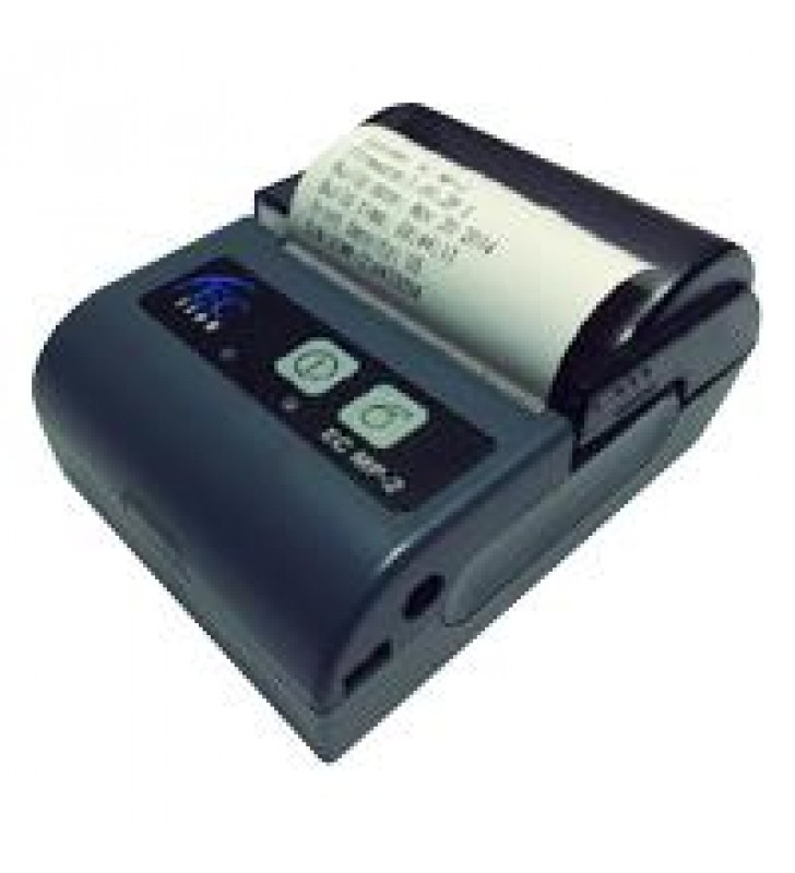 MINIPRINTER TERMICA PORTATIL EC LINE EC-MP-2 RS232+USB BLUETOOTH NEGRA/GRIS 58MM (3.15)