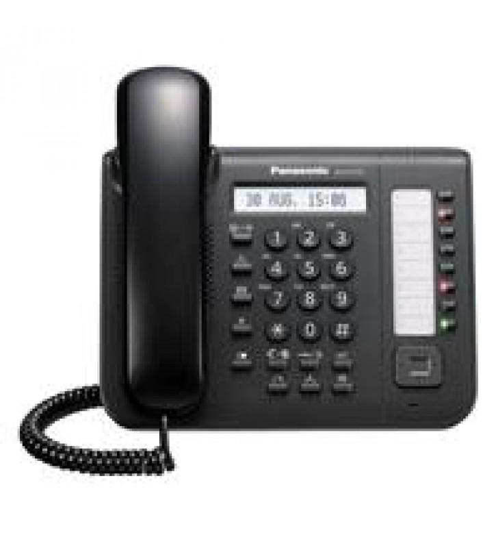 TELEFONO PANASONIC KX-DT521 DIGITAL CON 8 TECLAS PROGRAMABLES NEGRO PARA EXTENSIONES DIGITALES