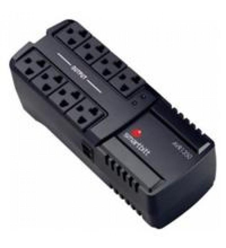 REGULADOR DE VOLTAJE SMARTBITT 1350VA / 675 WATTS120V8 CONTACTOS REG. Y SUP. LED.