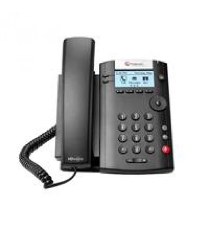 TELEFONO IP POLYCOM VVX 201 POEPARA 2 LINEAS (NO INCLUYE FUENTE DE PODER)