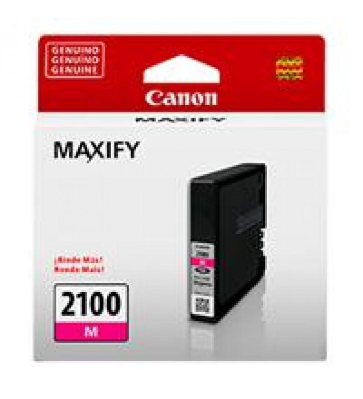 CARTUCHO DE TINTA CANON PGI-1100M MAGENTA P/MAXIFY MB2010 RENDIMIENTO 260PAGINAS