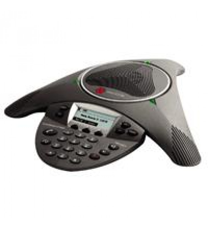 TELEFONO DE CONFERENCIA POLYCOM SOUNDSTATION IP 6000SIPPOE (INCLUYE FUENTE DE PODER)