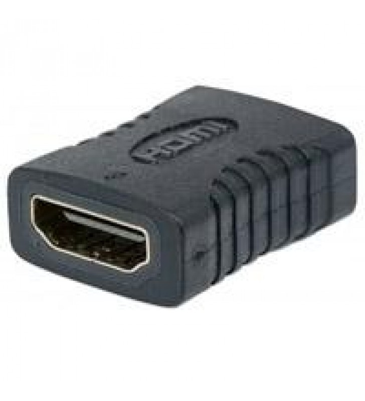 ADAPTADOR HDMI MANHATTAN COPLE RECTO ANGULO RECTO 4K HEMBRA-HEMBRA