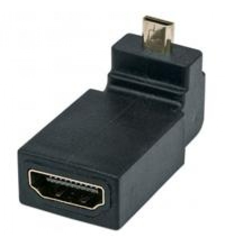 ADAPTADOR MANHATTAN HDMI A MICRO HDMI 4K ANGULO 90