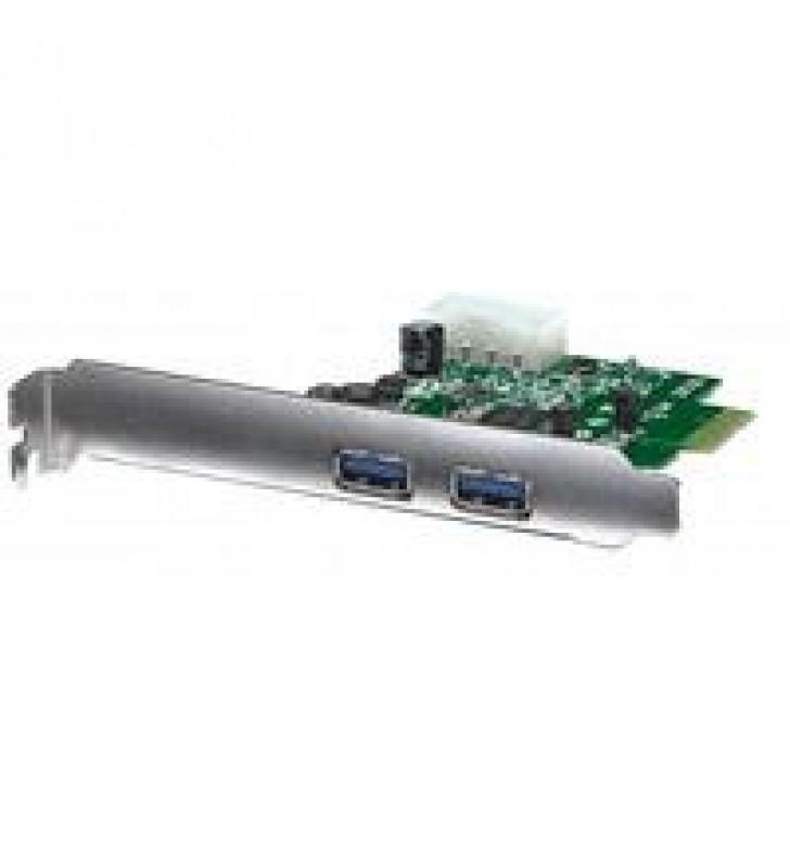 TARJETA PCI EXPRESS MANHATTAN USB 3.0 2 PUERTOS BRACKET LARGO CORTO