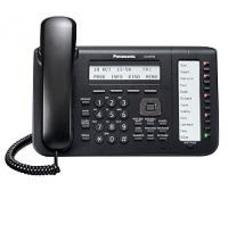 TELEFONO IP PROP. PANASONIC KX-NT553 3 LINEAS-LCD ALTAVOZ 2 PTOS ETHERNET GB NEGRO