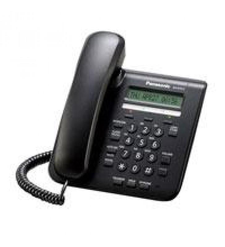 TELEFONO IP PROPIETARIO PANASONIC PANTALLA LCD DE 1 LINEA 3 TECLAS DE FUNCIONES PROGRAMABLES 2 PUERT