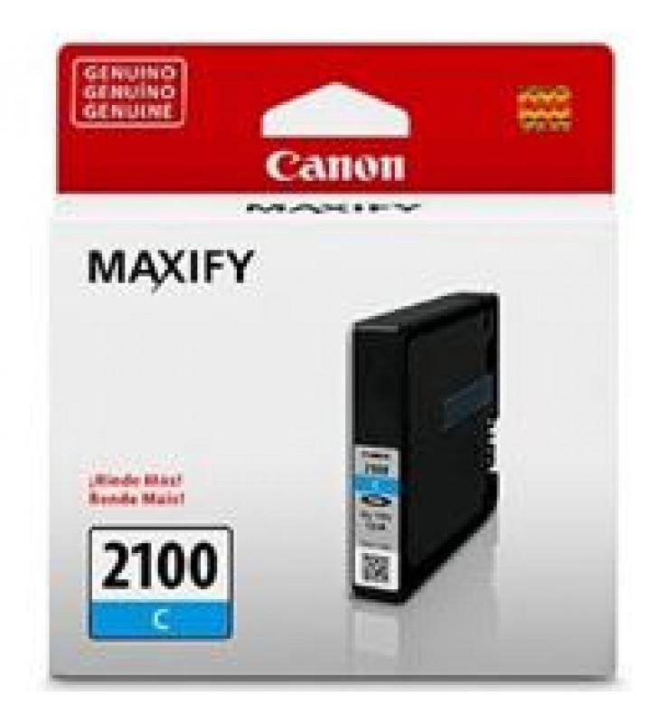 CARTUCHO DE TINTA CANON PGI-2100C CIAN P/ IB4010 MB5310 RENDIMIENTO 1000 PGINAS