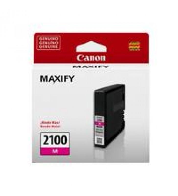 CARTUCHO DE TINTA CANON PGI-2100M MAGENTA P/ IB4010 MB5310 RENDIMIENTO 1000 PGINAS