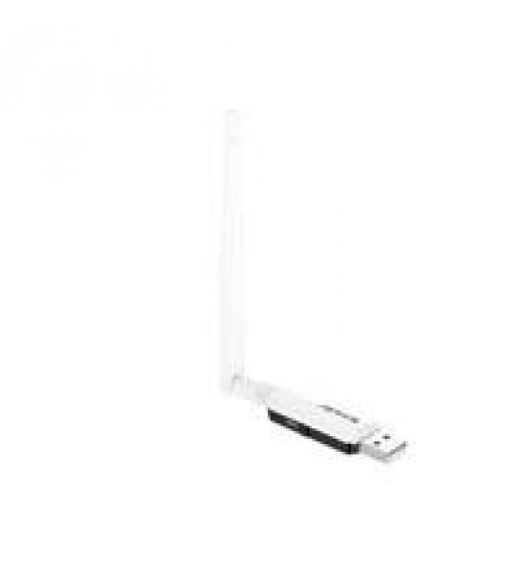 ADAPTADOR DE RED U1 USB 2.0 INALAMBRICA N300 DE 300 MBPS SOFT AP