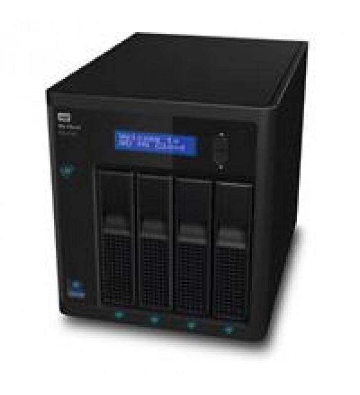 NAS WD MY CLOUD EX4100 32TB/CON 4 DISCOS DE 8TB/4BAHIAS HOTSWAP/1.6GHZ/2GB/2ETHERNET/3USB3.0/RAID 0-