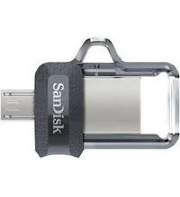 MEMORIA SANDISK 32GB USB 3.0 / MICRO USB ULTRA DUAL DRIVE M3.0 OTG 150MB/S