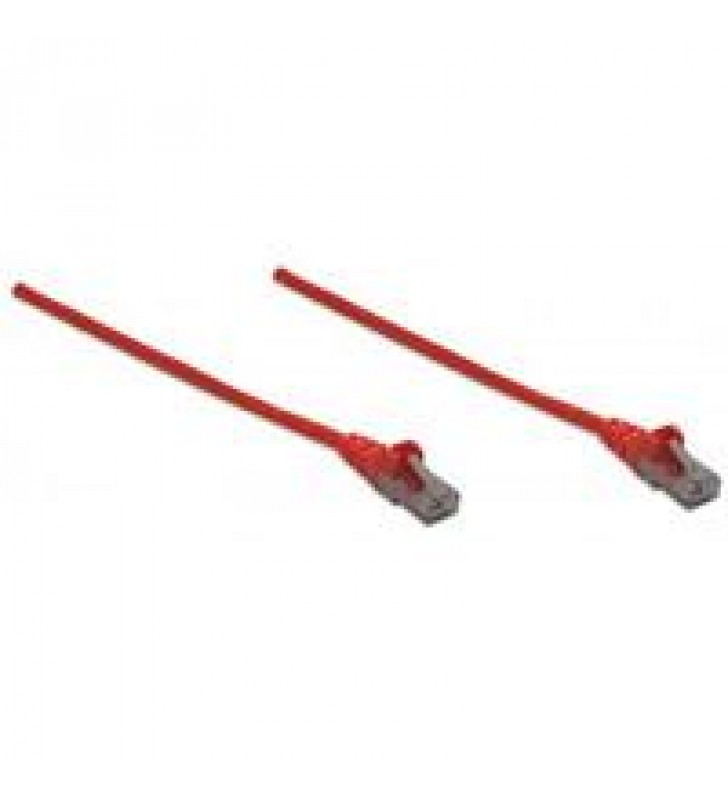 CABLE DE RED INTELLINET  2.0 MTS (7.O PIES) CAT 6 UTP ROJO