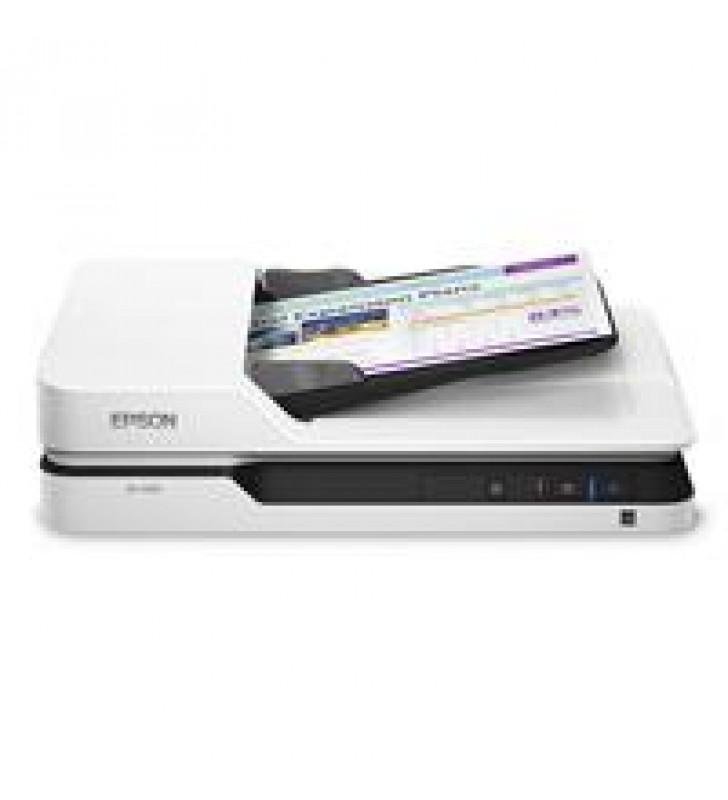 SCANNER EPSON WORKFORCE DS-1630 25 PPM/10 IPM 1200 DPI 48 BITS CAMA PLANA USB ADF DUPLEX