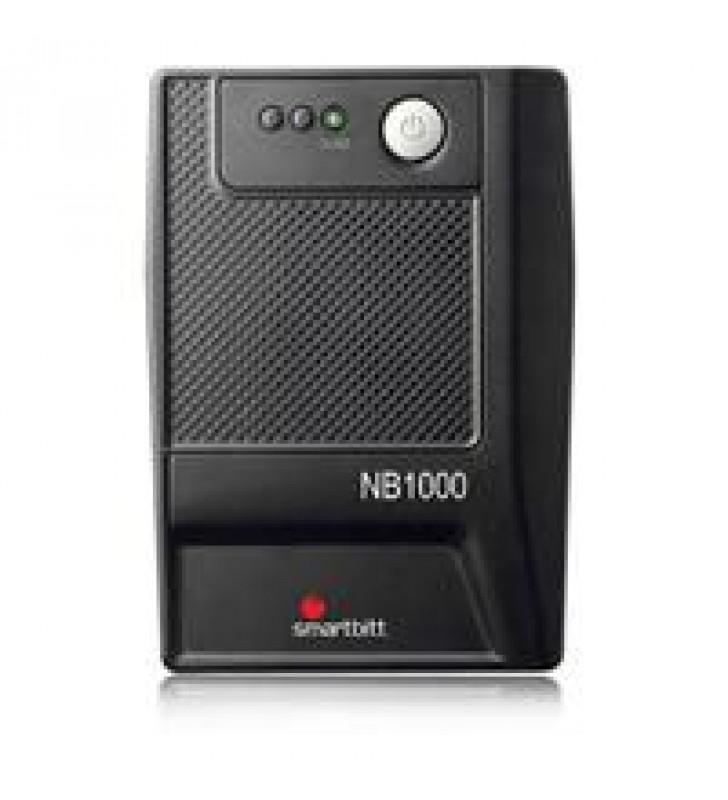 NO BREAK SMARTBITT 1000VA/500 WATTS 6 CONTACTOS PUERTO USB PROTECCIN DE LINEA TELEFNICA RJ-11