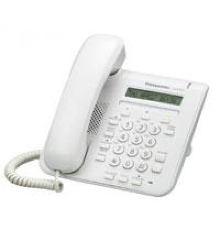TELEFONO IP PROPIETARIO PANASONIC 1 LINEA LCD 16 CARACTERES 3 TECLAS FF 2 PUERTOS ETHERNET POE COLOR