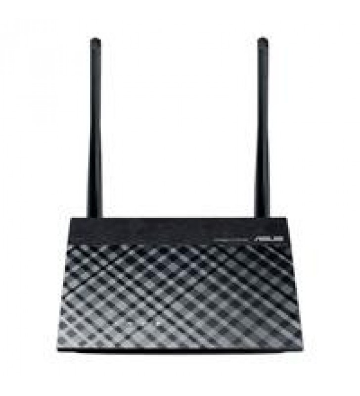 ROUTER ASUS RT-N300 B1/300MBPS/2.4GHZ/4X LAN/MIMO/2X ANTENAS EXT/REPETIDOR/ACCESS POINT INALAMBRICO
