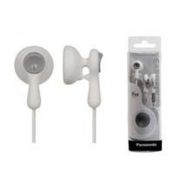 AUDIFONOS TIPO INSERCION (IN-EAR)  PANASONIC RP-HV41PP COLOR BLANCO CONECTOR 3.5MM