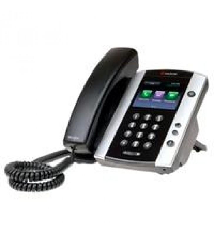 TELEFONO IP POLYCOM VVX 501 EDICION SKYPE FOR BUSINESS POE PARA 12 LINEASNO INCLUYE FUENTE DE PODER