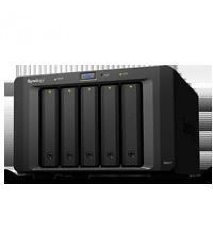 UNIDAD DE EXPANSION SYNOLOGY DX517 5 BAHIAS 3.5 Y 2.5 SATA HDD/SATA 2.5 SSD/HASTA 50TB/HOT-SWAP