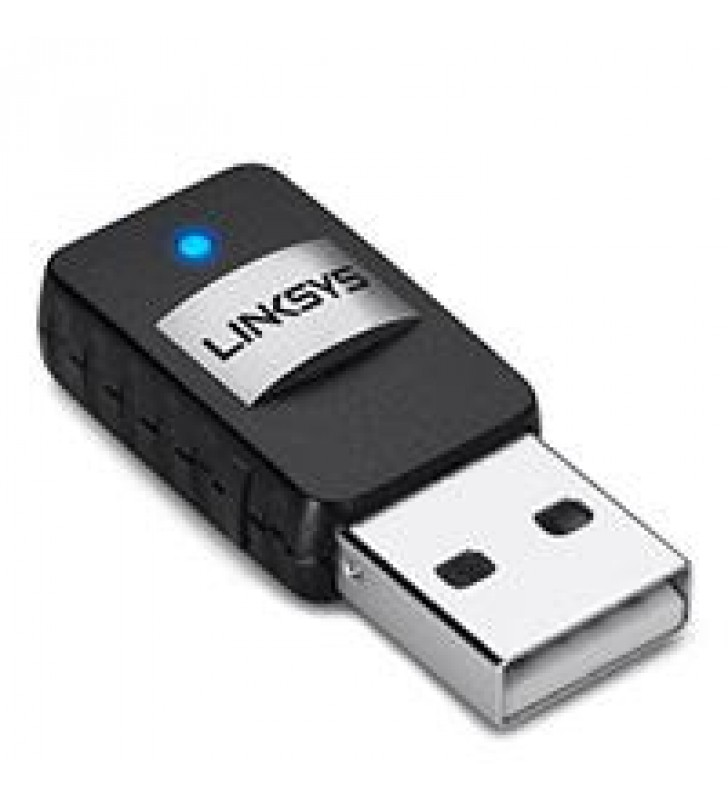 TARJETA DE RED LINKSYS AE6000 MINI USB DOBLE BANDA- AC