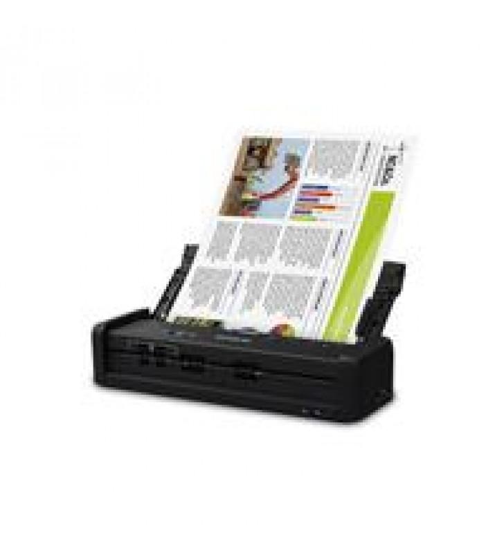 SCANNER EPSON WORKFORCE ES-300W PORTATIL 25 PPM/50 IPM 600 DPI USB WIFI