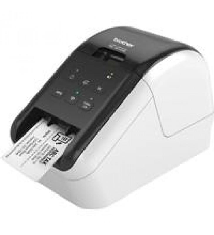 IMPRESORA DE ETIQUETAS BROTHER QL810W CONEXION USB WIFI CINTAS DE 12 MM HASTA 62 MM IMPRESION DE COD