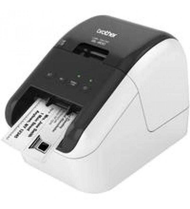 IMPRESORA DE ETIQUETAS BROTHER QL800 CONEXION USB CINTAS DE 12 MM HASTA 62 MM IMPRESION DE CODIGOS D