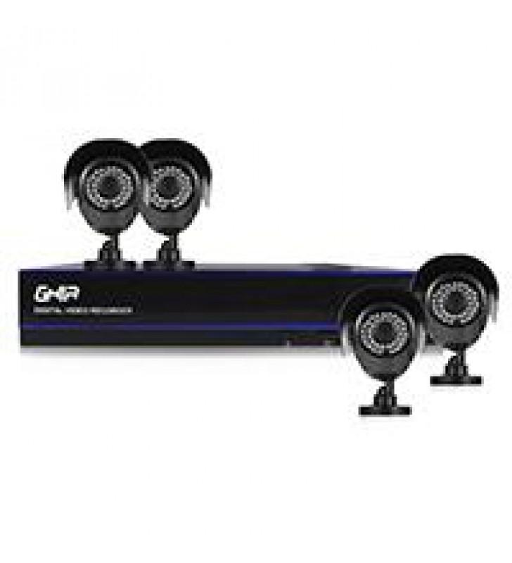 KIT GHIA DVR 8 CH PENTAHIBRIDO 1080P LITE / DISCO DURO 1TB ESPECIAL CCTV/ HDMI / VGA / 4 CAMARAS BAL