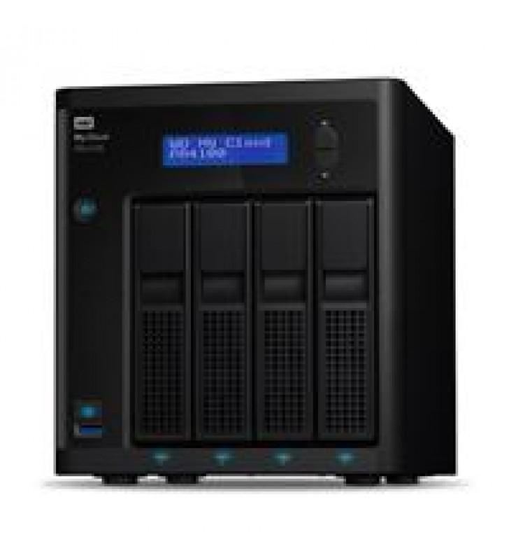 NAS WD MY CLOUD PR4100 40TB/CON 4 DISCOS DE 10TB/4BAHIAS/INTEL PENTIUM N3710 1.6GHZ/4GB/2ETHERNET/3U