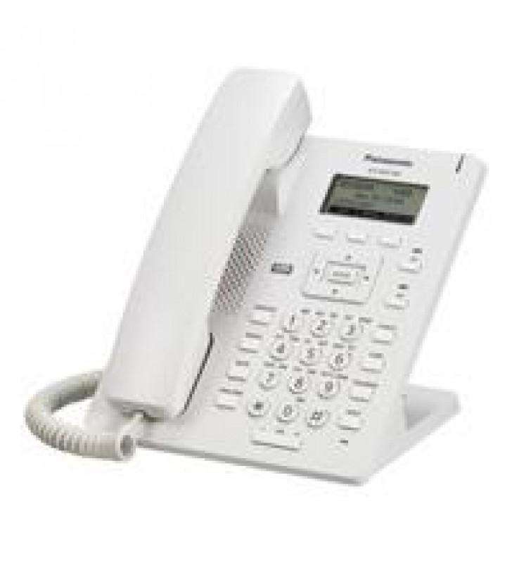 TELEFONO IP SIP BASICO PANTALLA 2.3 LCD INCLUYE ADAPTADOR AC NO POE 1 PTO LAN BLANCO