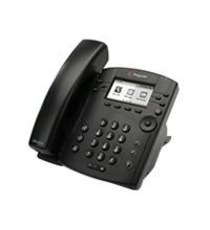 TELEFONO IP POLYCOM VVX 301 POEPARA 6 LINEAS (NO INCLUYE FUENTE DE PODER)
