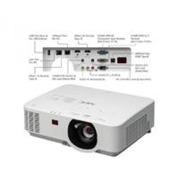 VIDEOPROYECTOR NEC NP-P474U 4700 LUMENES LCD/MLA WUXGA ZOOM 1.7 CONT 18000:1 HD BASET 2 HDMI VGA RS-