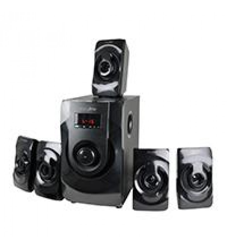 TEATRO EN CASA 5.1 CANALES EASY LINE BY PERFECT CHOICE BLUETHOOTH 3.5MM FM SD USB NEGRO