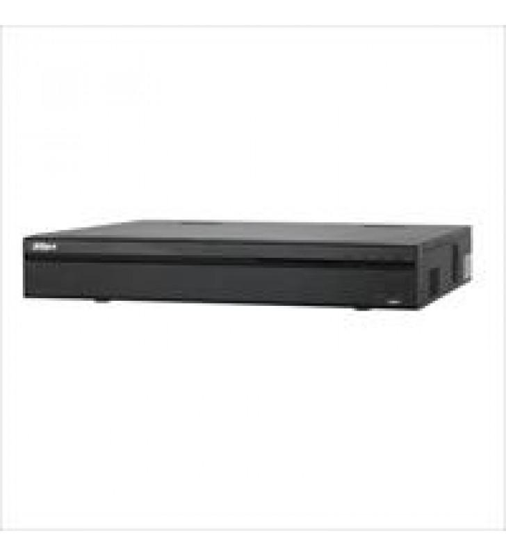 NVR DAHUA 32 CANALES IP 4K/ H265/H264/ RENDIMIENTO 200MBPS/ HDMI/ VGA/ SOPORTA 4 HDD/ IVS