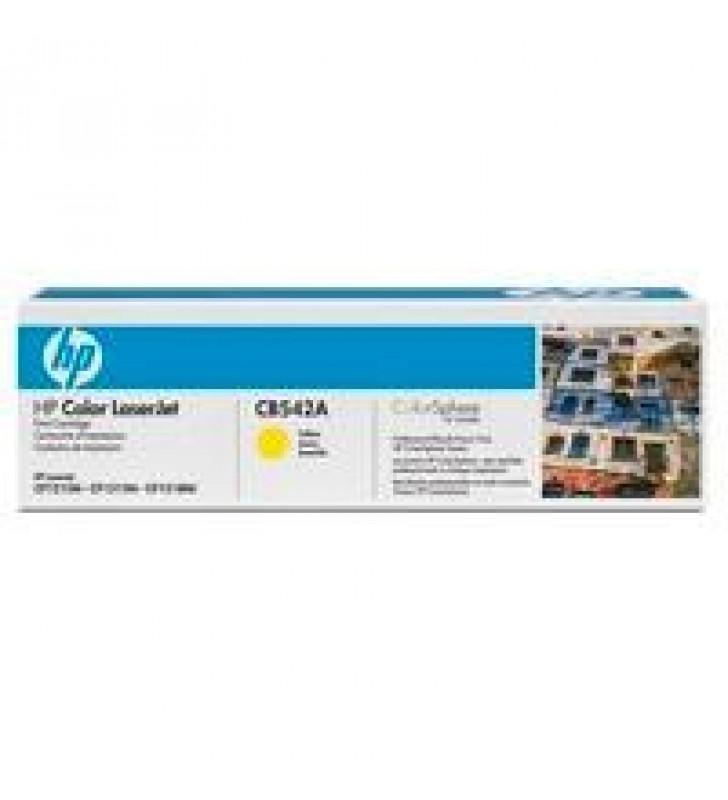 TONER HP CB542A AMARILLO PARA LASERJET 1215 / 1515 RENDIMIENTO 1400 PAG.