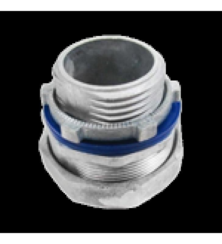 CONECTOR RECTO PARA TUBO TIPO LIQUIDTIGHT DE 1/2 (13 MM).