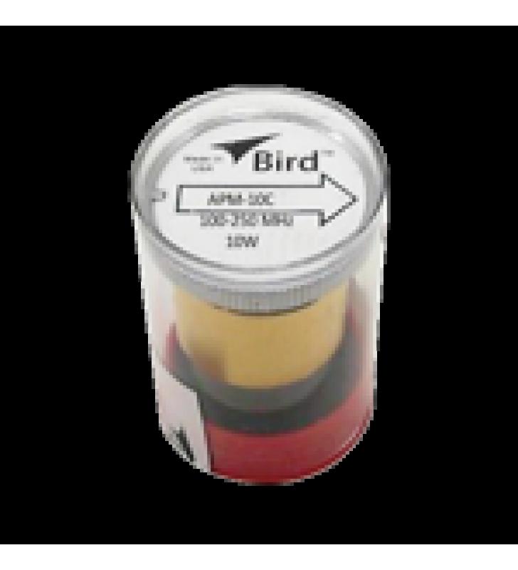 ELEMENTO PARA WATTMETRO BIRD APM-16, 100-250 MHZ, 10 WATT.