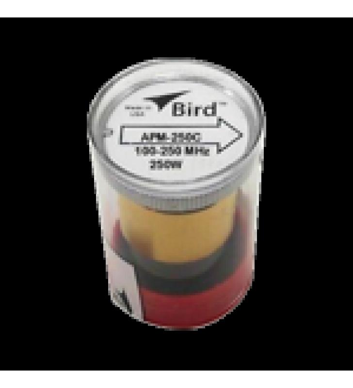 ELEMENTO PARA WATTMETRO BIRD APM-16, 100-250 MHZ, 250 WATT.