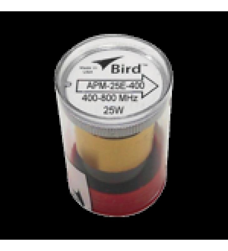 ELEMENTO PARA WATTMETRO BIRD APM-16, 400-800 MHZ, 25 WATT.