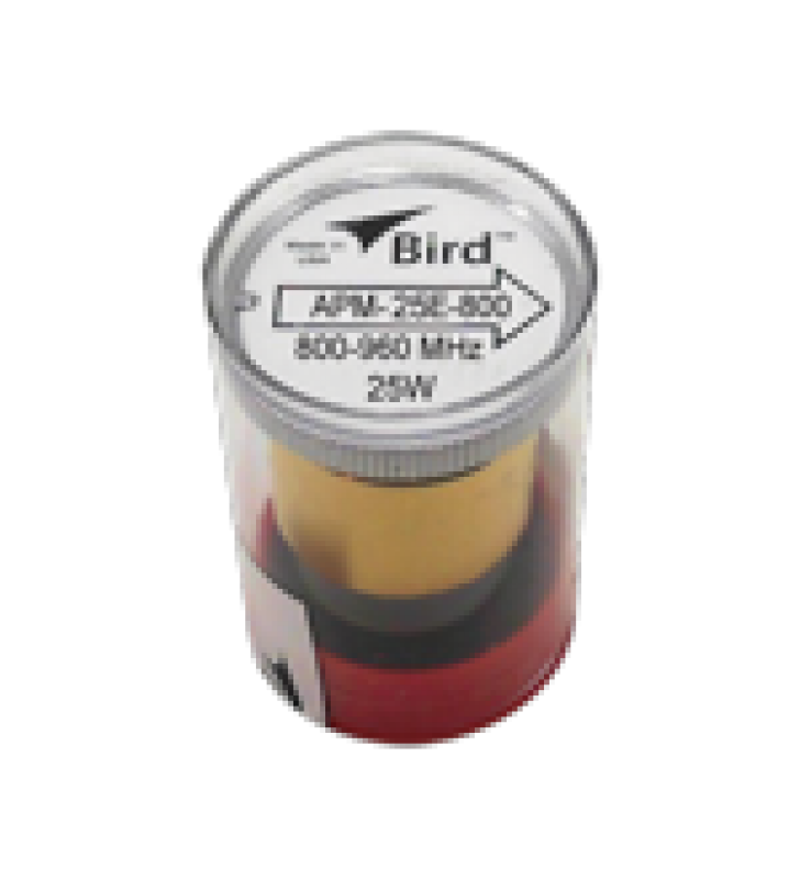 ELEMENTO PARA WATTMETRO BIRD APM-16, 800-960 MHZ, 25 WATT.
