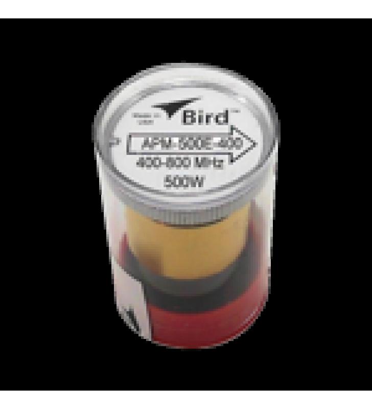 ELEMENTO PARA WATTMETRO BIRD APM-16, 400-800 MHZ, 500 WATT.