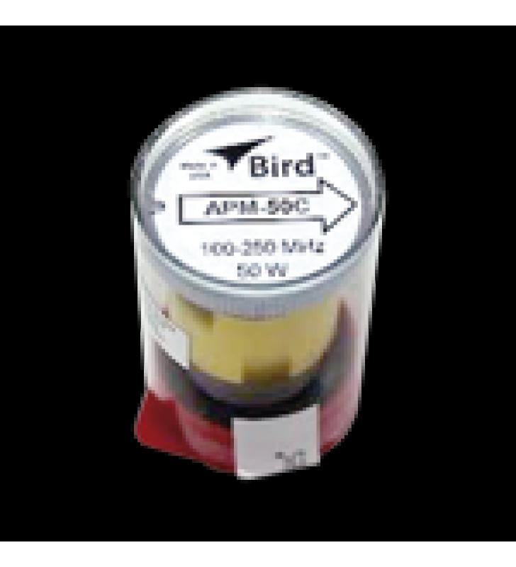ELEMENTO PARA WATTMETRO BIRD APM-16, 100-250 MHZ, 50 WATT.