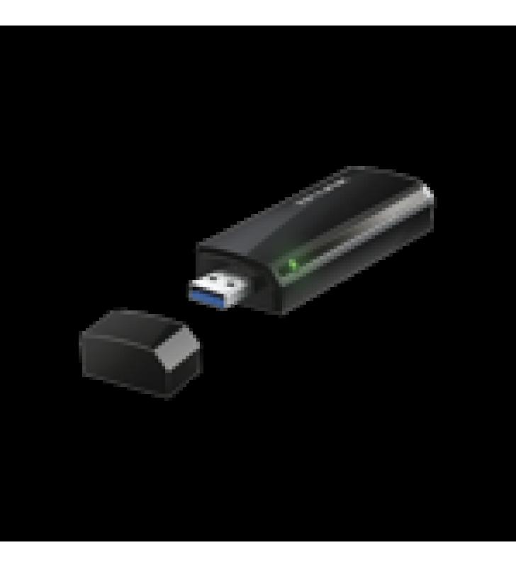 ADAPTADOR  USB INALAMBRICO DOBLE BANDA AC 1200 MBPS