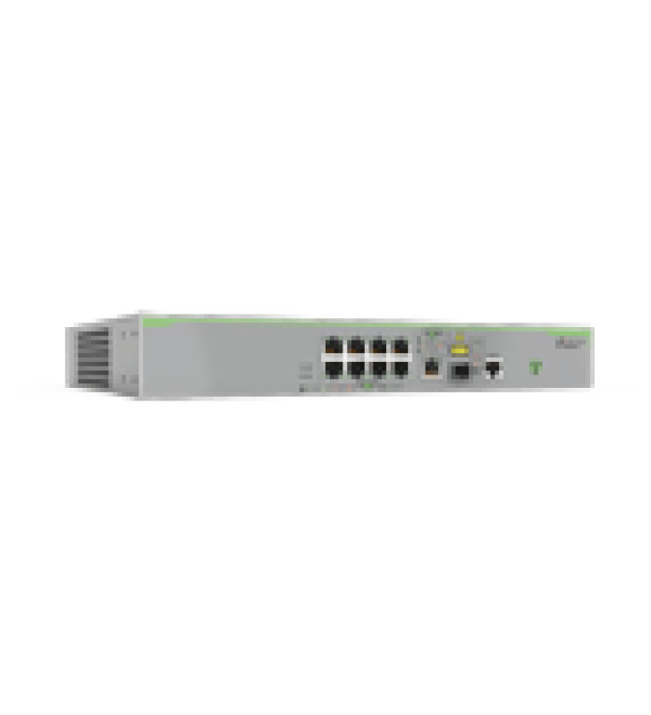 SWITCH ADMINISTRABLE CENTRECOM FS980M, CAPA 3 DE 8 PUERTOS 10/100 MBPS + 1 PUERTOS RJ45 GIGABIT/SFP COMBO