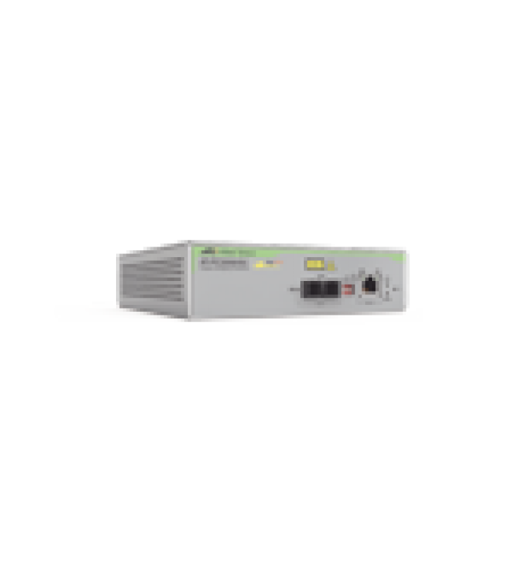CONVERTIDOR DE MEDIOS GIGABIT ETHERNET POE+ A FIBRA OPTICA, CONECTOR SC, MULTIMODO (MMF), DISTANCIA HASTA 550 M