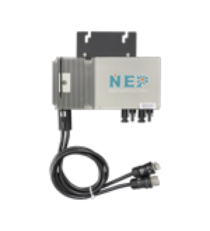 MICROINVERSOR 600 W PARA INTERCONEXION A RED ELECTRICA 220V, IP67 CON CABLE TRONCAL INCLUIDO