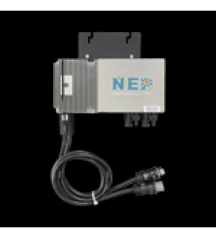 MICROINVERSOR 600W PARA INTERCONEXION A RED ELECTRICA 110 VCA, IP67 CON CABLE TRONCAL INCLUIDO